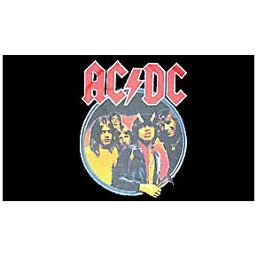 acdc ac/dc highway to hell flag flags band
