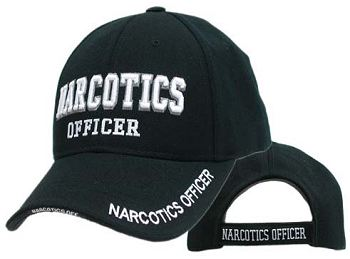 Narcotics Officer hat thats 100% Acrylic (Wool Feel) High Quality ...