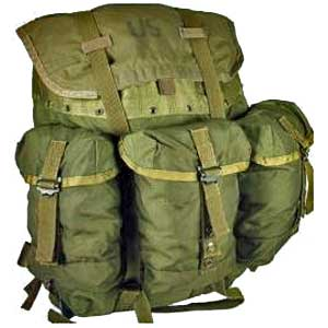 alice pack medium with frame