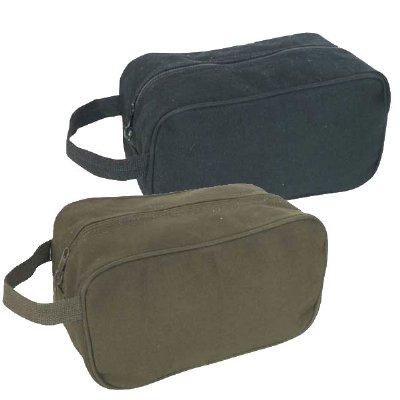 Canvas Toiletry Kit Bag