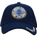 Embroidered Coast Guard Seal Hat