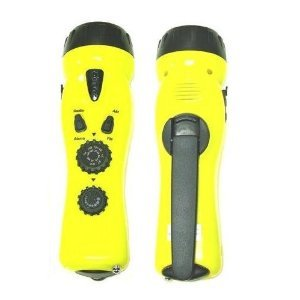 4-in-1 Dynamo Emergency Radio/Flashlight