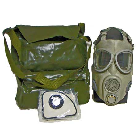 East German/Czech M10 Gas Mask 3pk