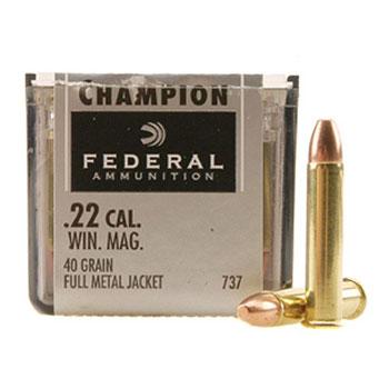 federal  22 champion ammo