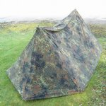 German Flectarn Camo Military Tent Set