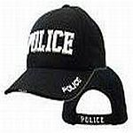 Embroidered Police Hat