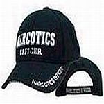 Embroidered Narcotics Officer Hat
