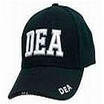 Embroidered DEA Hat