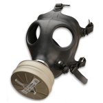 Israeli Gas Mask Without Straw