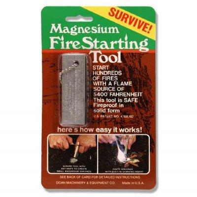 G.I. Aviation Survival Fire-Starter 3pk
