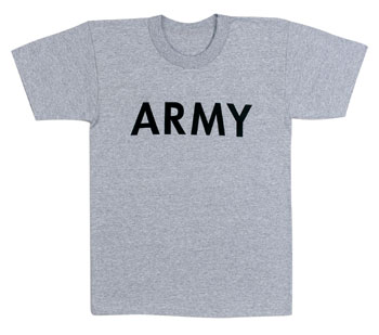Army t shirt for Military t shirt companies