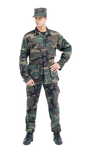 green (old camo style) BDU's --- https://www.mainemilitary.com/produc ...