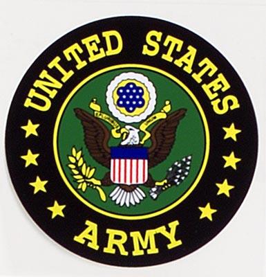 U S Army Seal Sticker
