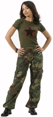 Women S Vintage Paratrooper Fatigues
