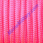 Parachute Cord 100' Neon Pink