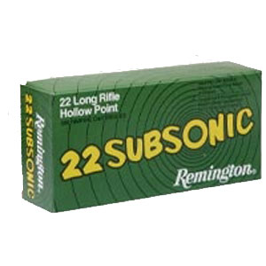 remington subsonic 22 long