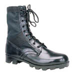 Ultra Force GI Style Jungle Boots, Black