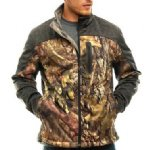 Trail Crest Soft Shell Jacket Green/Camo