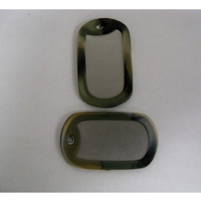 Military Dog Tag Rubber Silencer