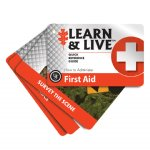 Learn & Live Cards - First Aid